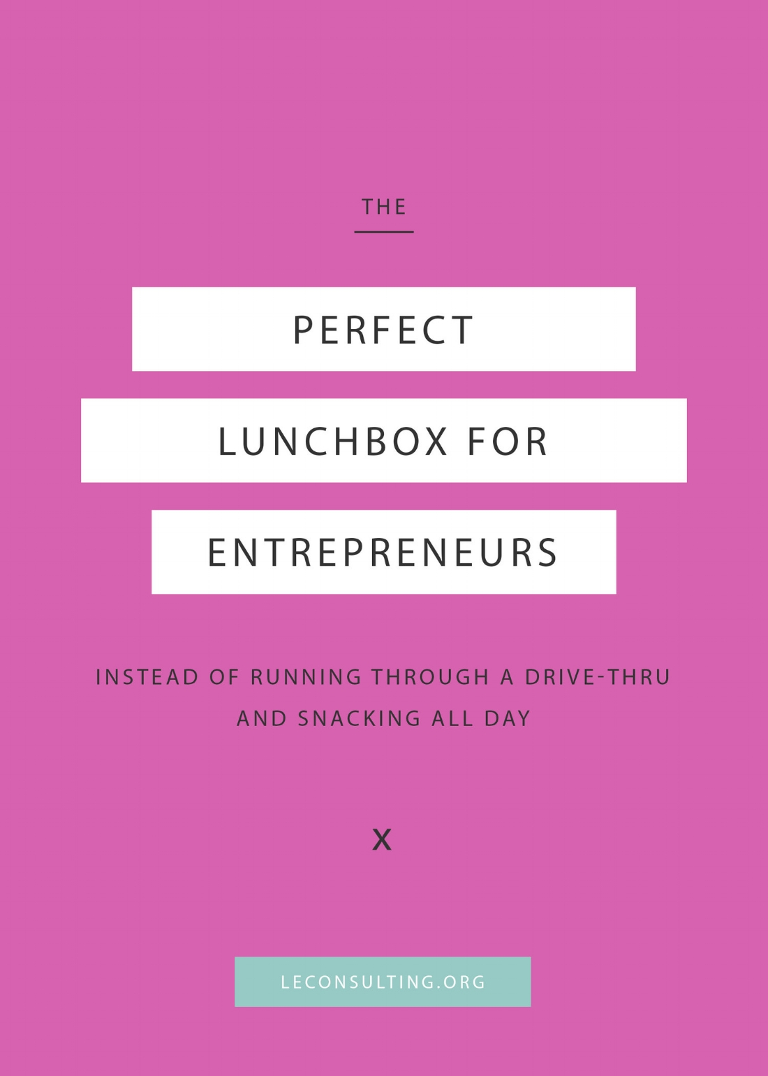 As entrepreneurs, we tend to lose track of the last time we made our own healthy lunch as opposed to buying one from the not-so-healthy drive through down the street. Cue in Prepd Pack! Click to read how Prepd Pack is changing the way how creative entrepreneurs can live a healthy lifestyle. | LE Consulting