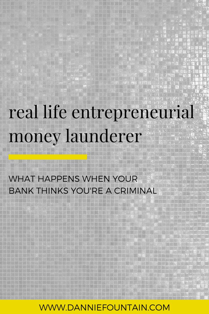 money-launderer