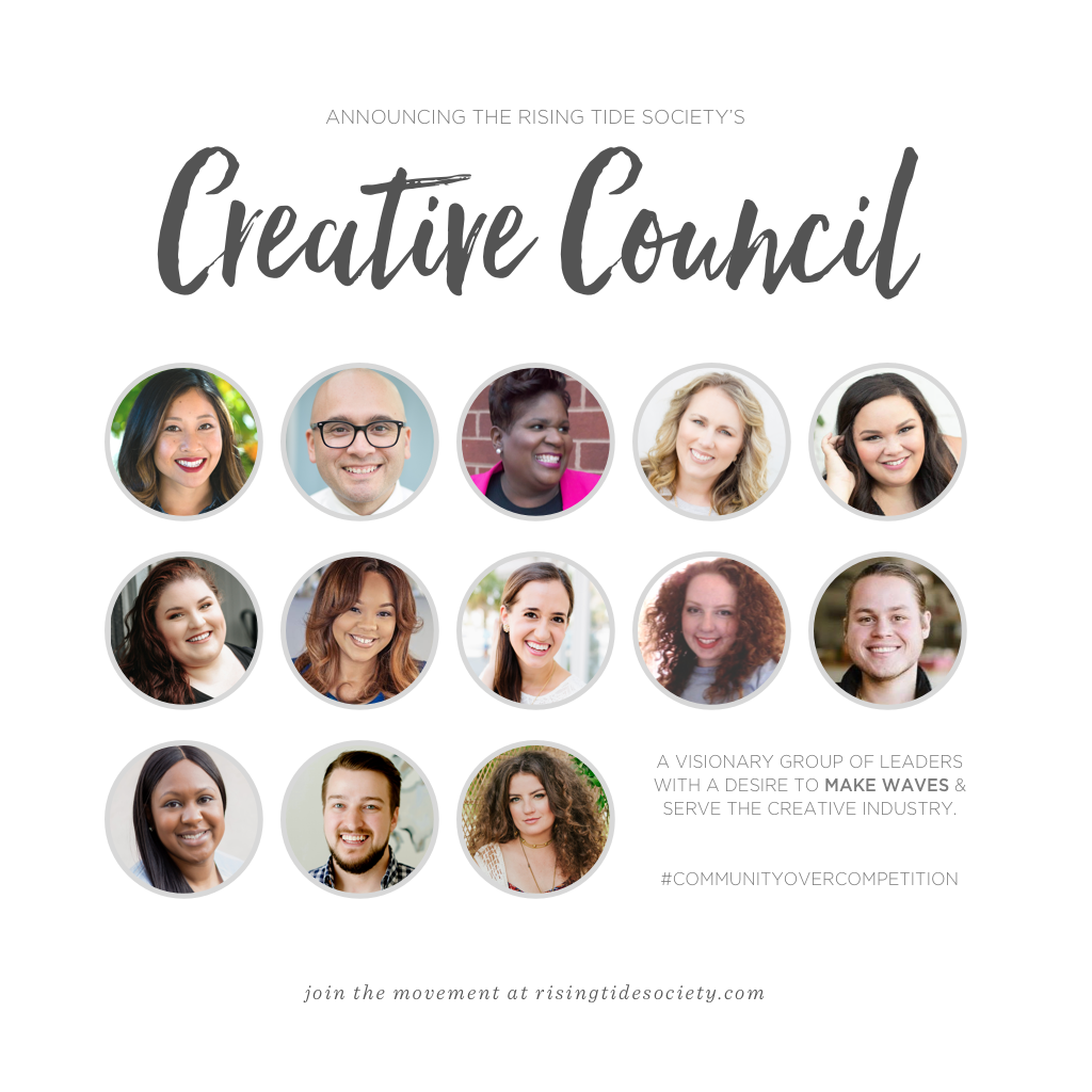Happy to be part of the  Creative Council !