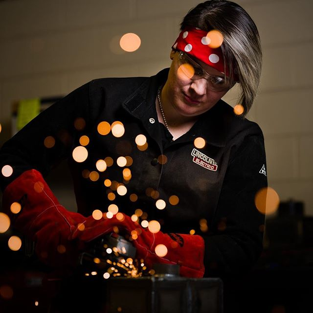 A couple more from Bobbi's shoot... #colorchecker #photography #nikon #tamron70200g2 #lincolnelectric #welding# #janesvillephotographer #milton #modelswanted #portrait #weld #strongwomen #badasswomen #godox #tamron