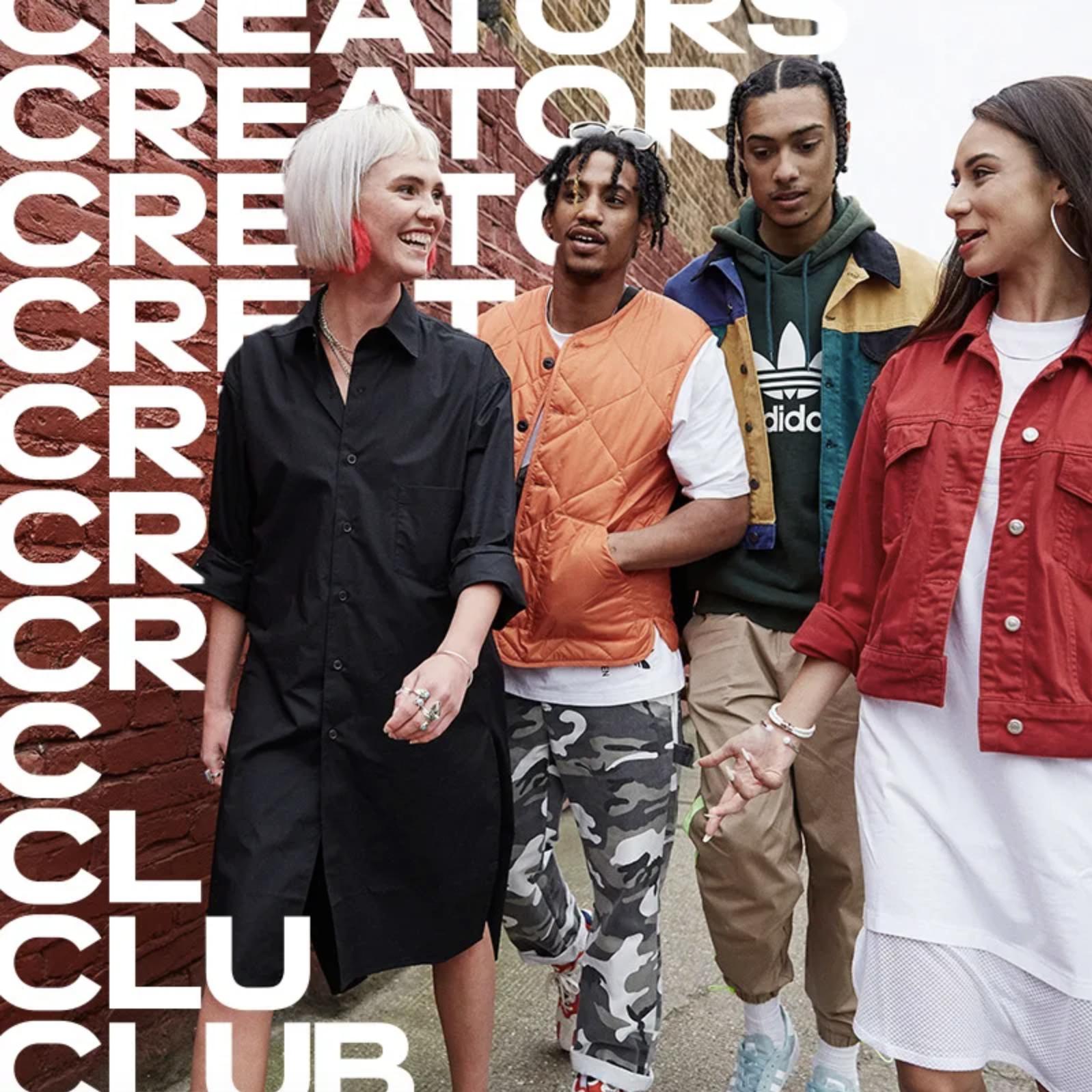 escala embotellamiento cuello  Paul Mann—adidas   Creators Club