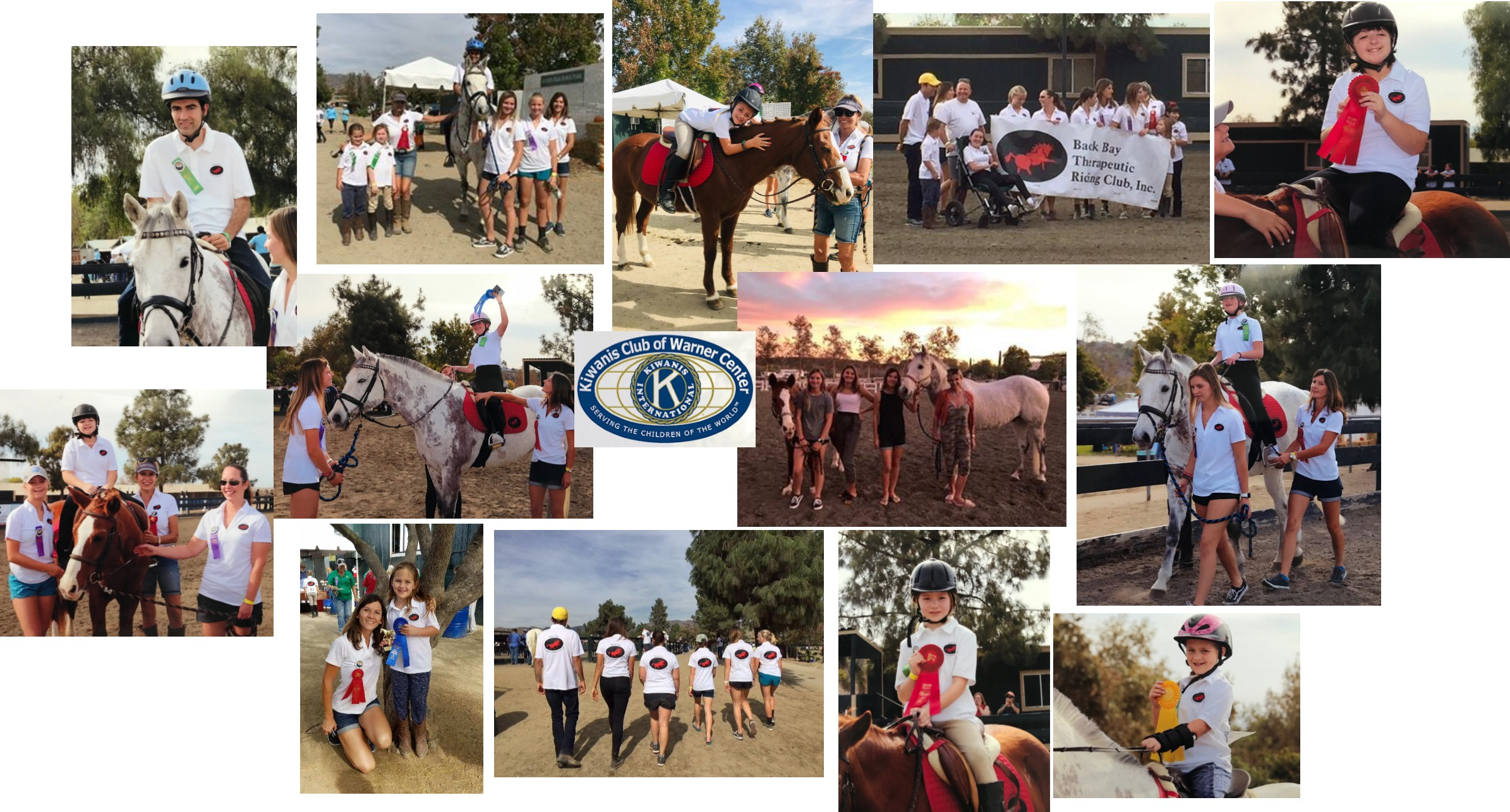 Kiwanis Equestrian Competition for Special AthletesNovember 4, 2018 - Our students did amazing this year again at the KECSA, horseshow organized by the KIWANIS in LA! We took Boomer and for the first time Tenney, the horses were amazing! Thanks to all the volunteers for your help and congratulations to our 6 students who competed and won first and second places !!!