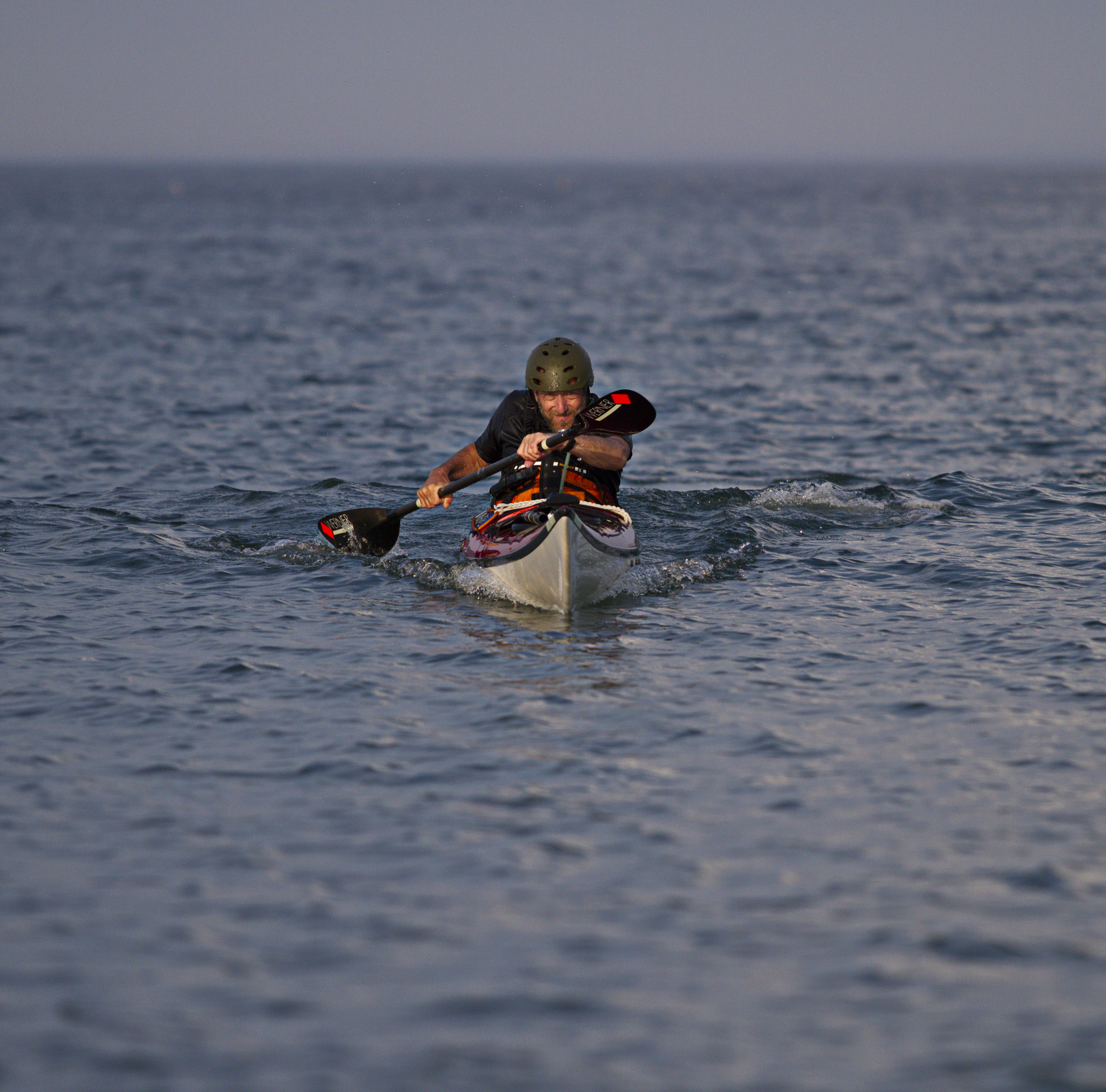 Sea Kayaking at Hampton Beach`