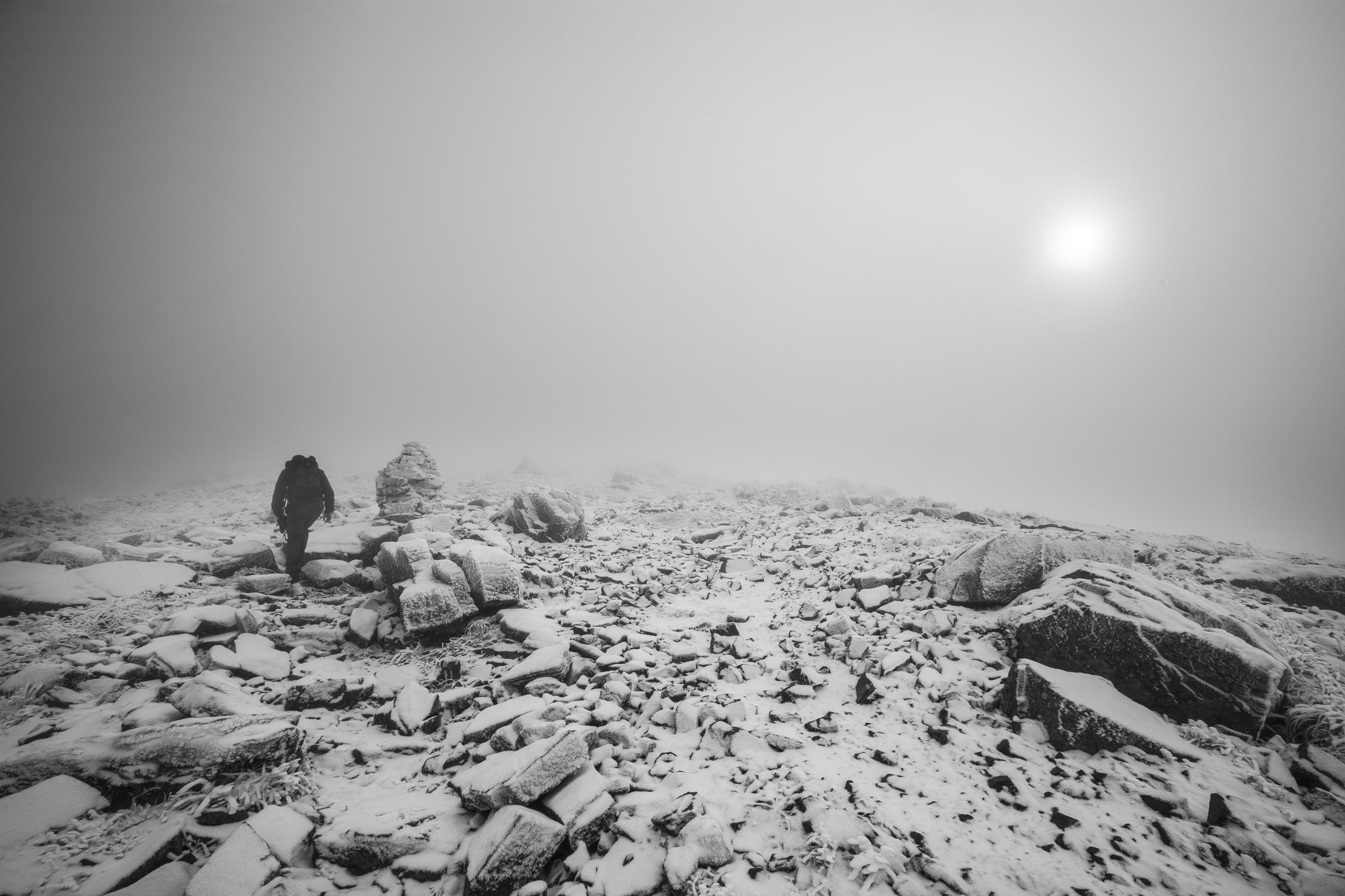 Mt Lafayette Summit Field