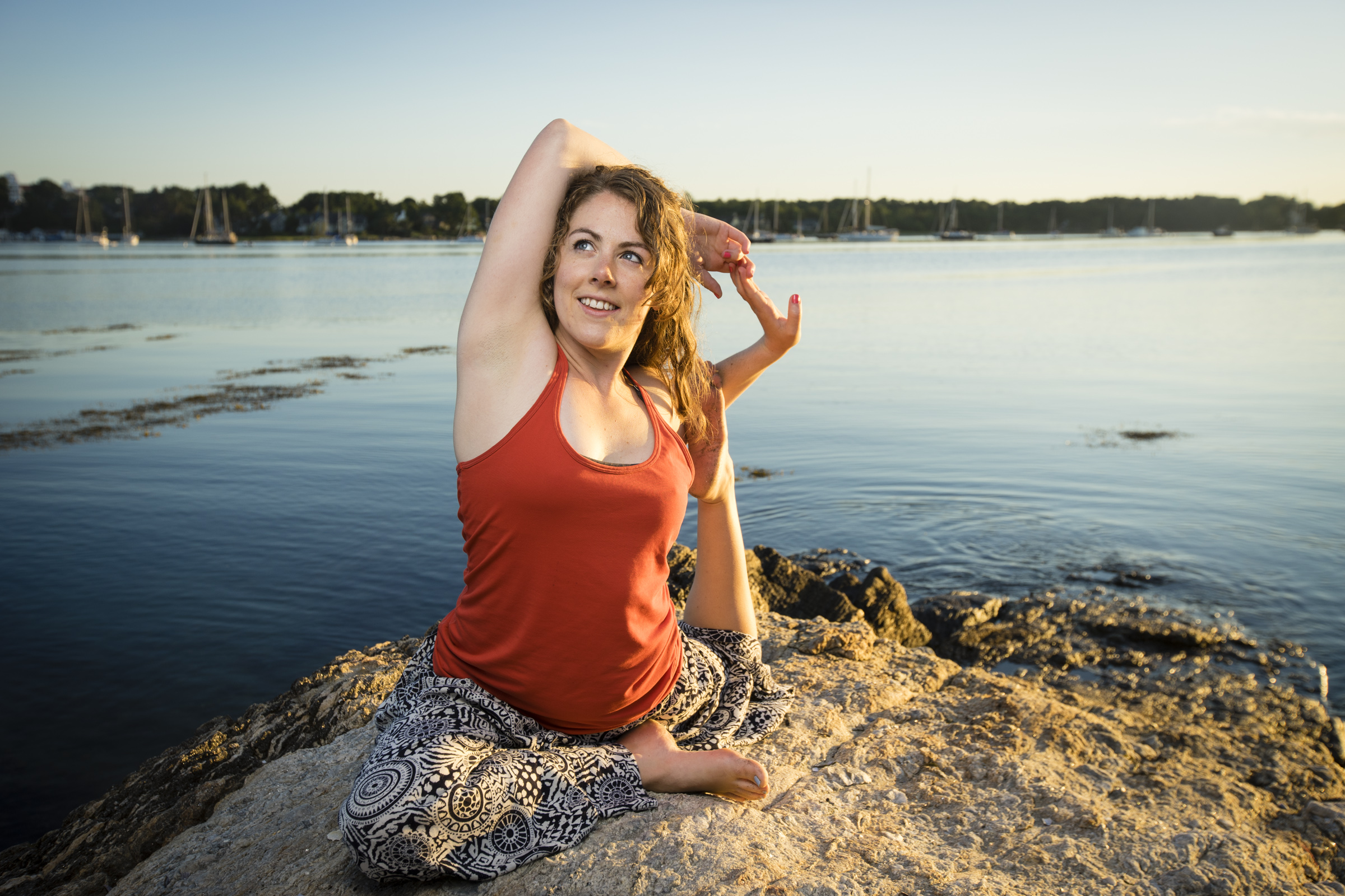 Gretchen Engle Lamothe-Yoga at Odiorne Point