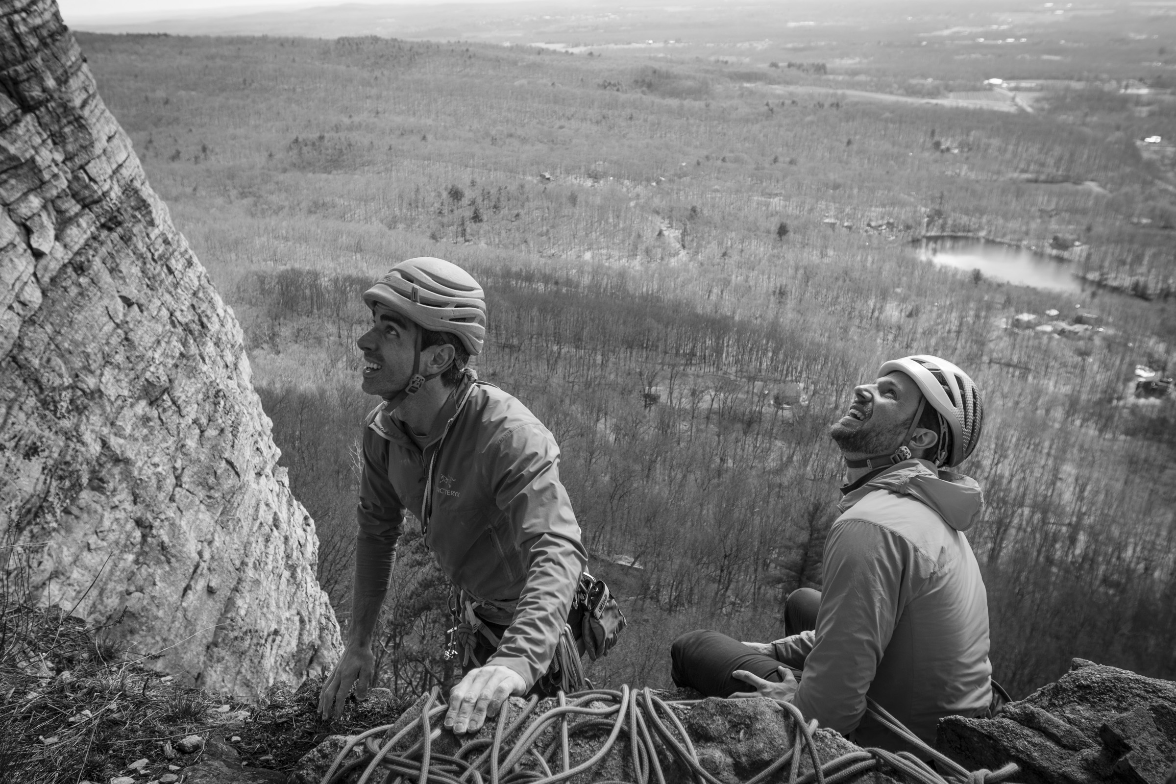 Adam and Ian at The Gunks