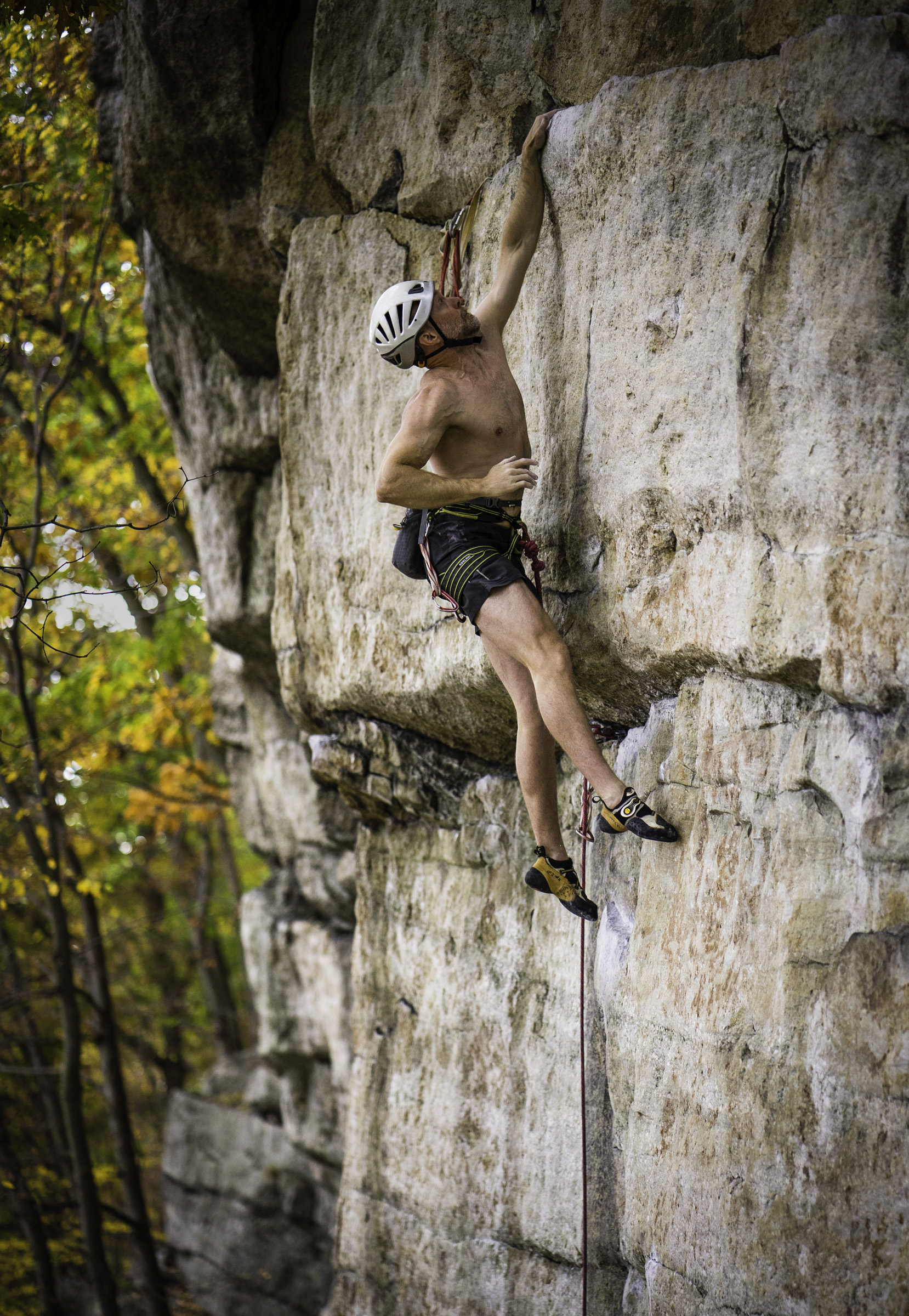 Brian Rossa on The Sting at the Gunks