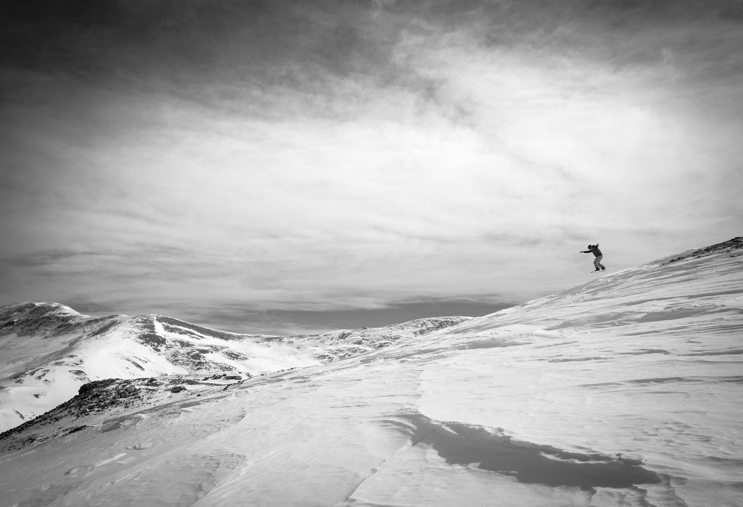 Loveland Pass Snowboarding