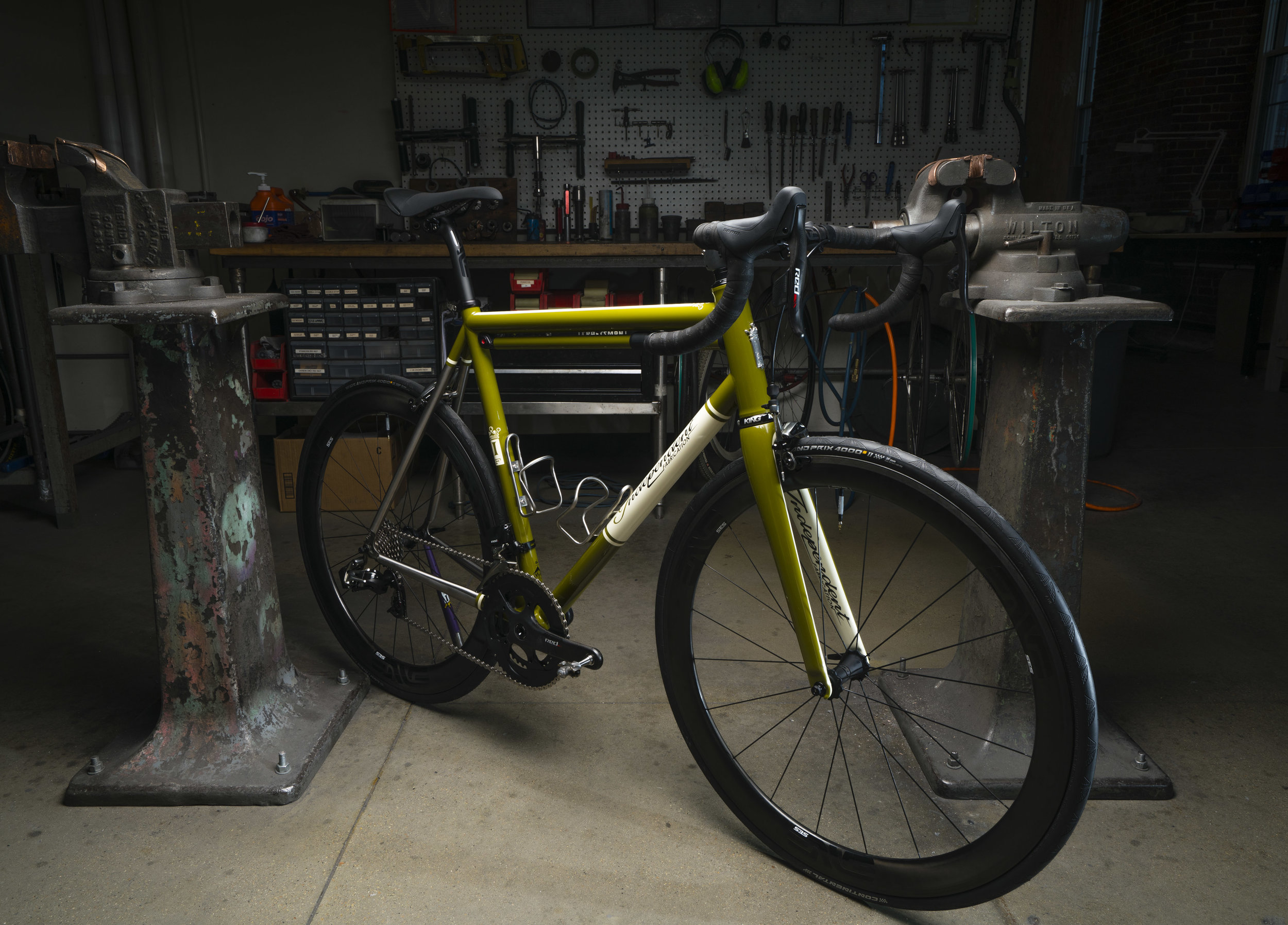 Independent Fabrication Bicycle Product Photography
