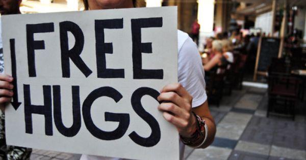 Heaven is free hugs. -
