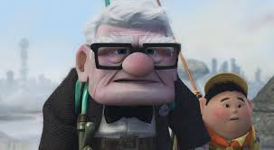 Carl Fredricksen with Russel, from  Up  (9:00)