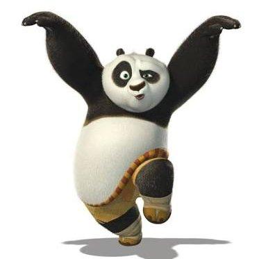 Po, from  Kung Fu Panda  (9:58)