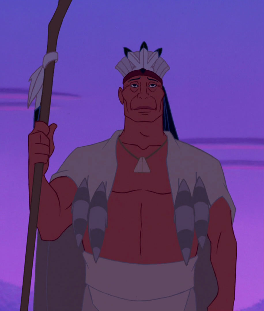 Chief Powhatan, from  Pocahontas  (12:55)