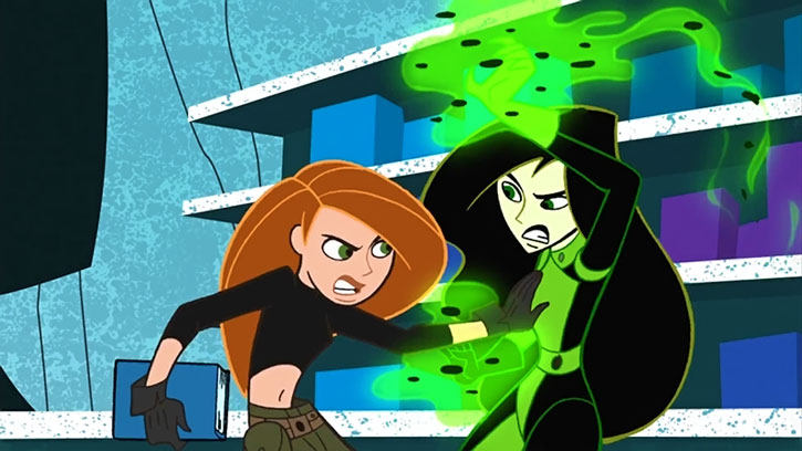 Shego and Kim Possible, from  Kim Possible  (14:37)