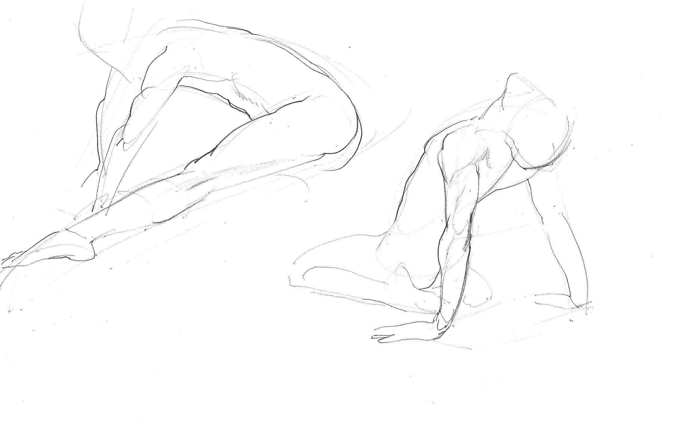 Fast Life Study Of A Ballet Dancer