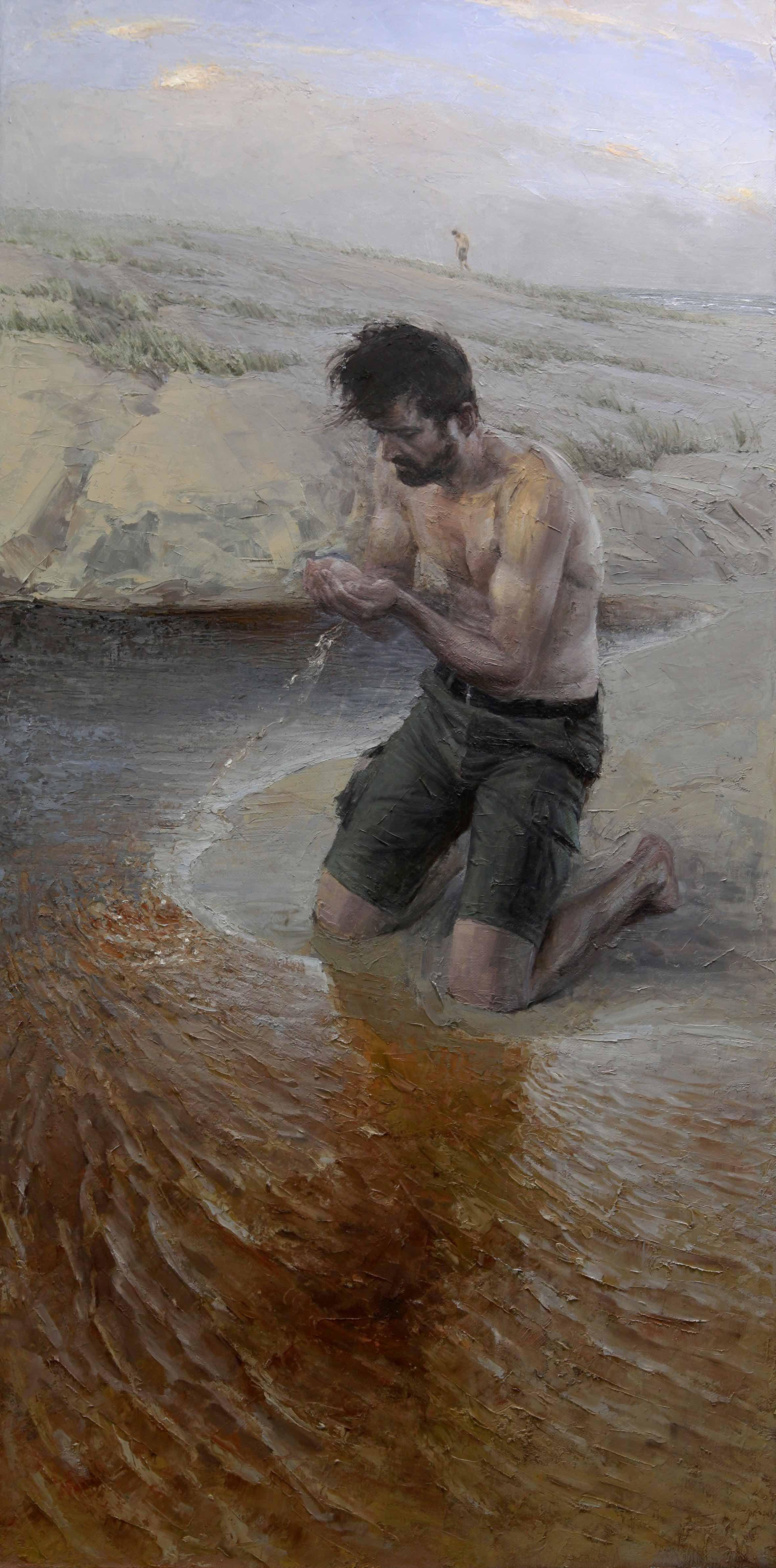 Finding Freshwater_Scott Breton_Oil on Linen_122x61cm_$2400.jpg