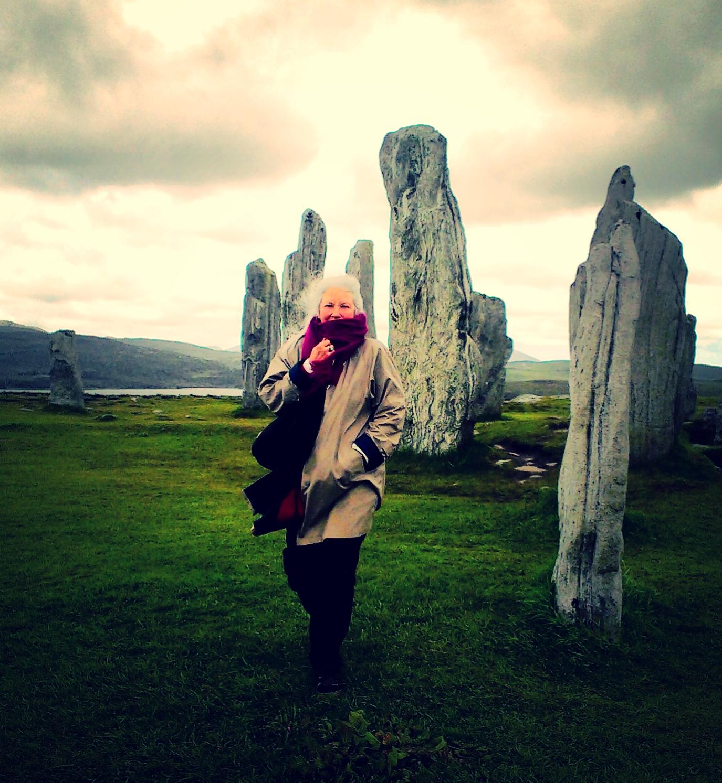 Callanish standing stones, Isle of Lewis, Scotland. Summer 2015