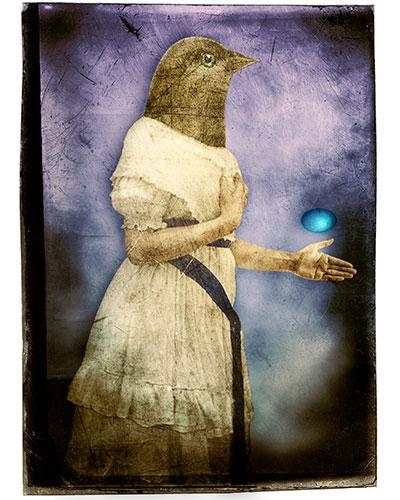 Birdhead Woman No.II