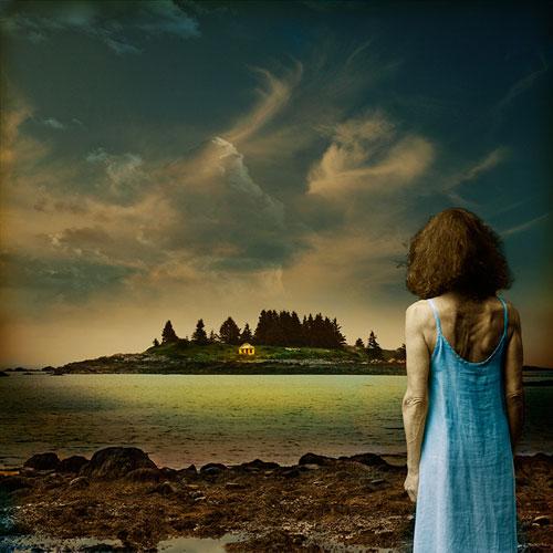 Looking Towards an Island