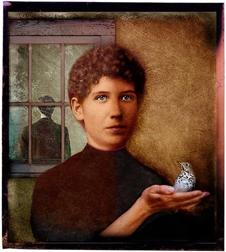 Magritte's Speckled Bird