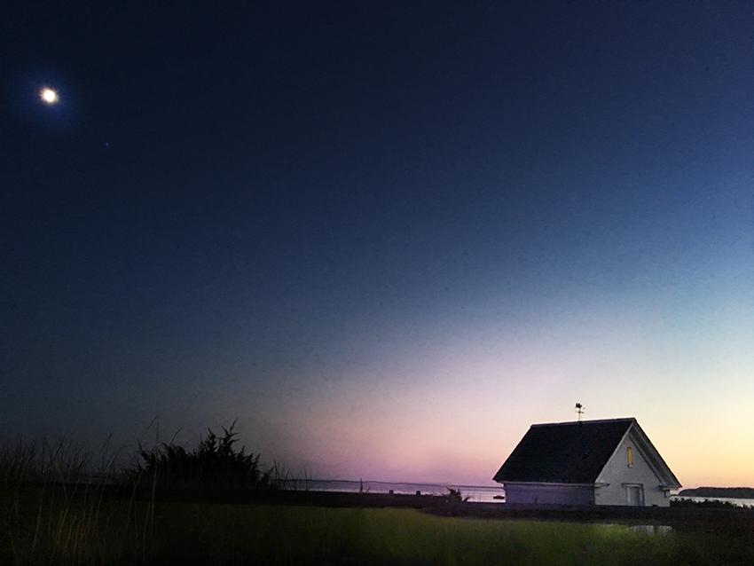 Wellfleet at Night