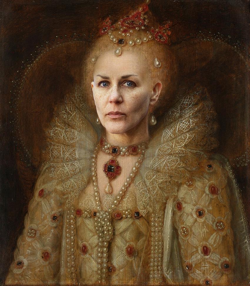 Portrait of Elizabeth I, Queen of England, anonymous, 1550 - 1599.jpg