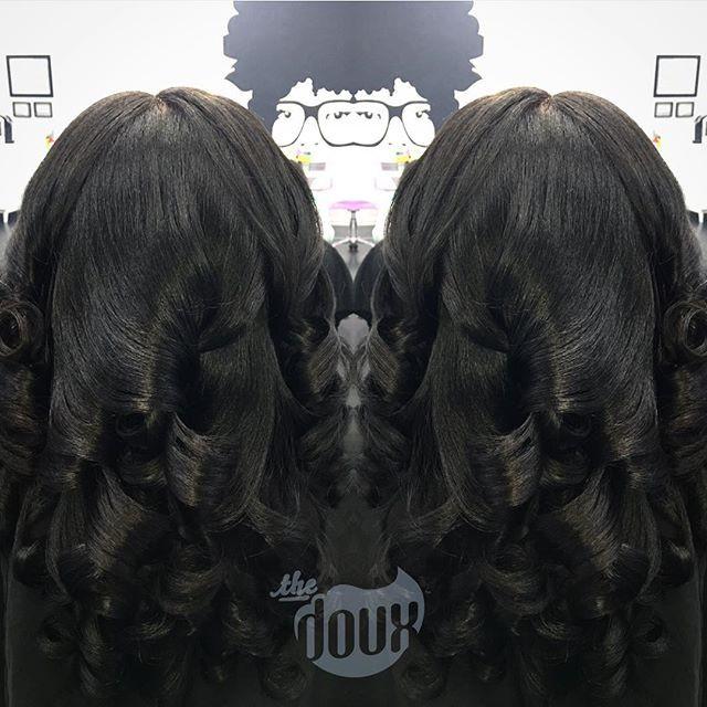Saturday #slayage: of course it got too busy this morning to snag the #pre-Doux pic😫😫😫, we promise it's not a wig. 💕##NATURALHAIRMACON#naturalhair#newdoux#norelaxer#noweave#airpress#silkpress#pressncurl#blowout#voiceofhair#hairchronicles#ilovethedoux#thedouxsalon#maconstylist#maconsalon#warnerrobinssalon#warnerrobinshair#downtownmacon#MACONhair#maconhair#airpress#blowout#blowoutbar#middlega#fvsu#mercer#warnerrobins#fortvalleyga