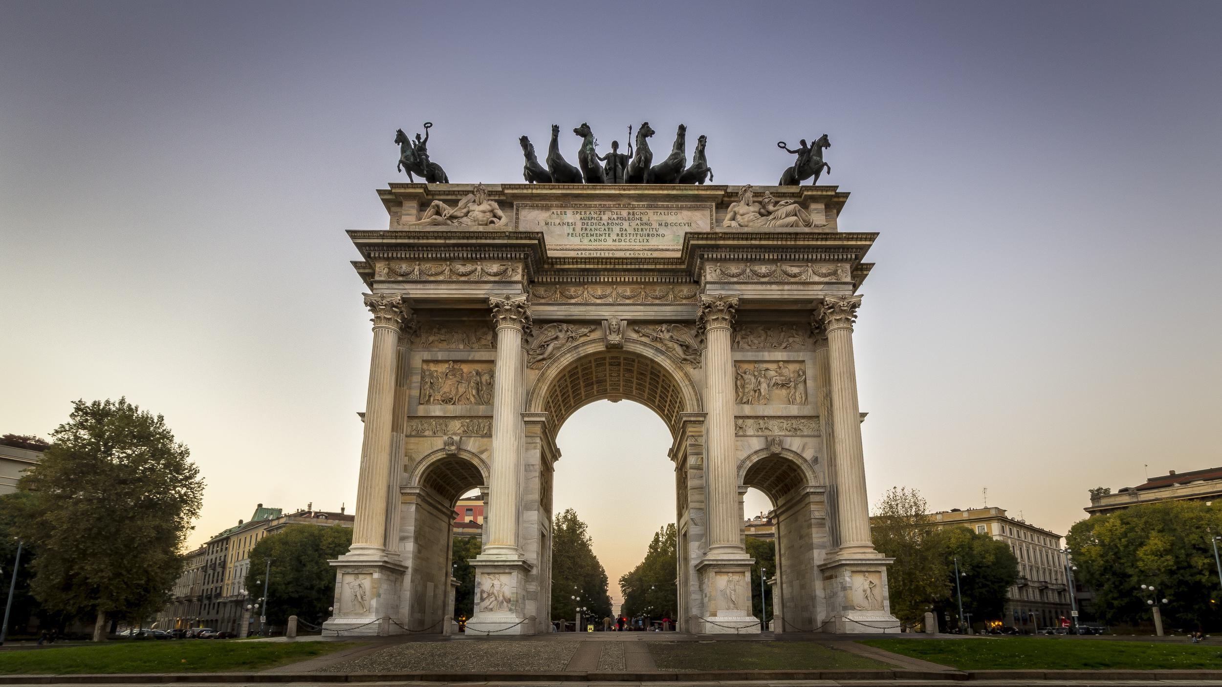 Arco della Pace – Milan Italy