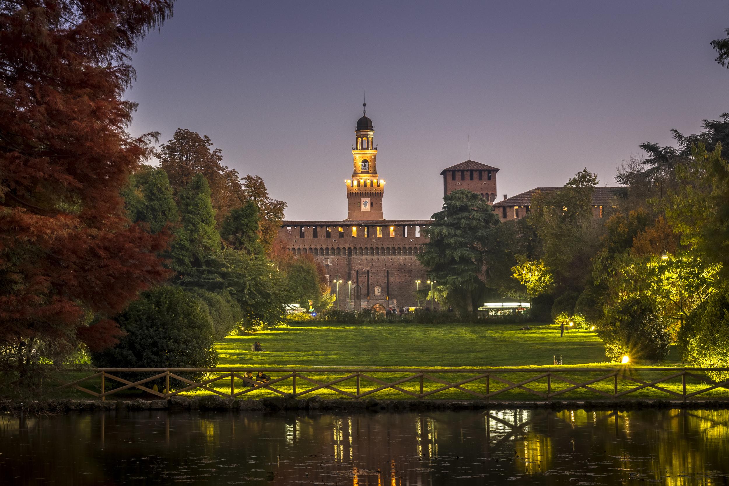 Castello Sforzesco – Milan Italy