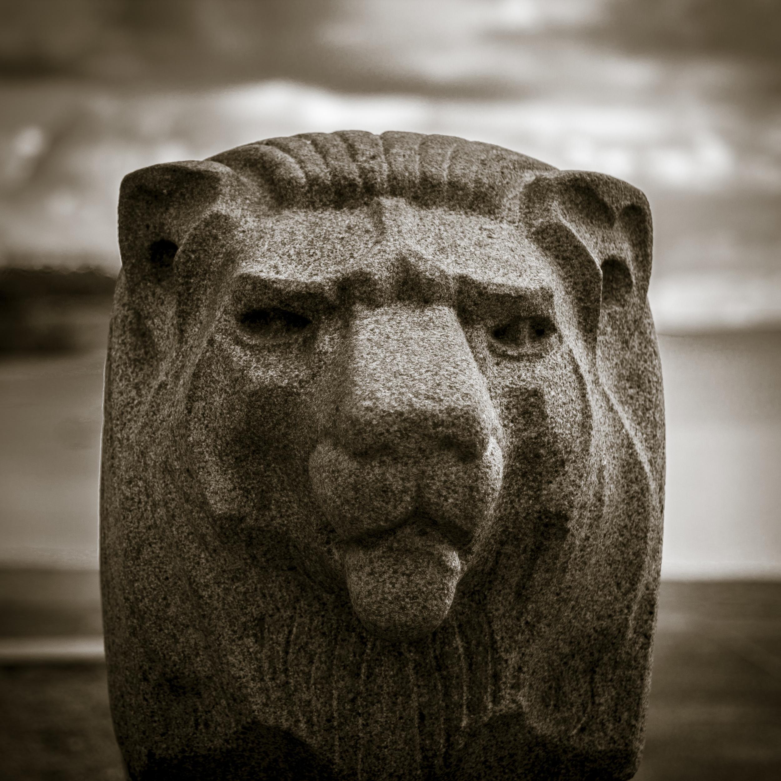 Freedom Monument Lion –Hanko Finland