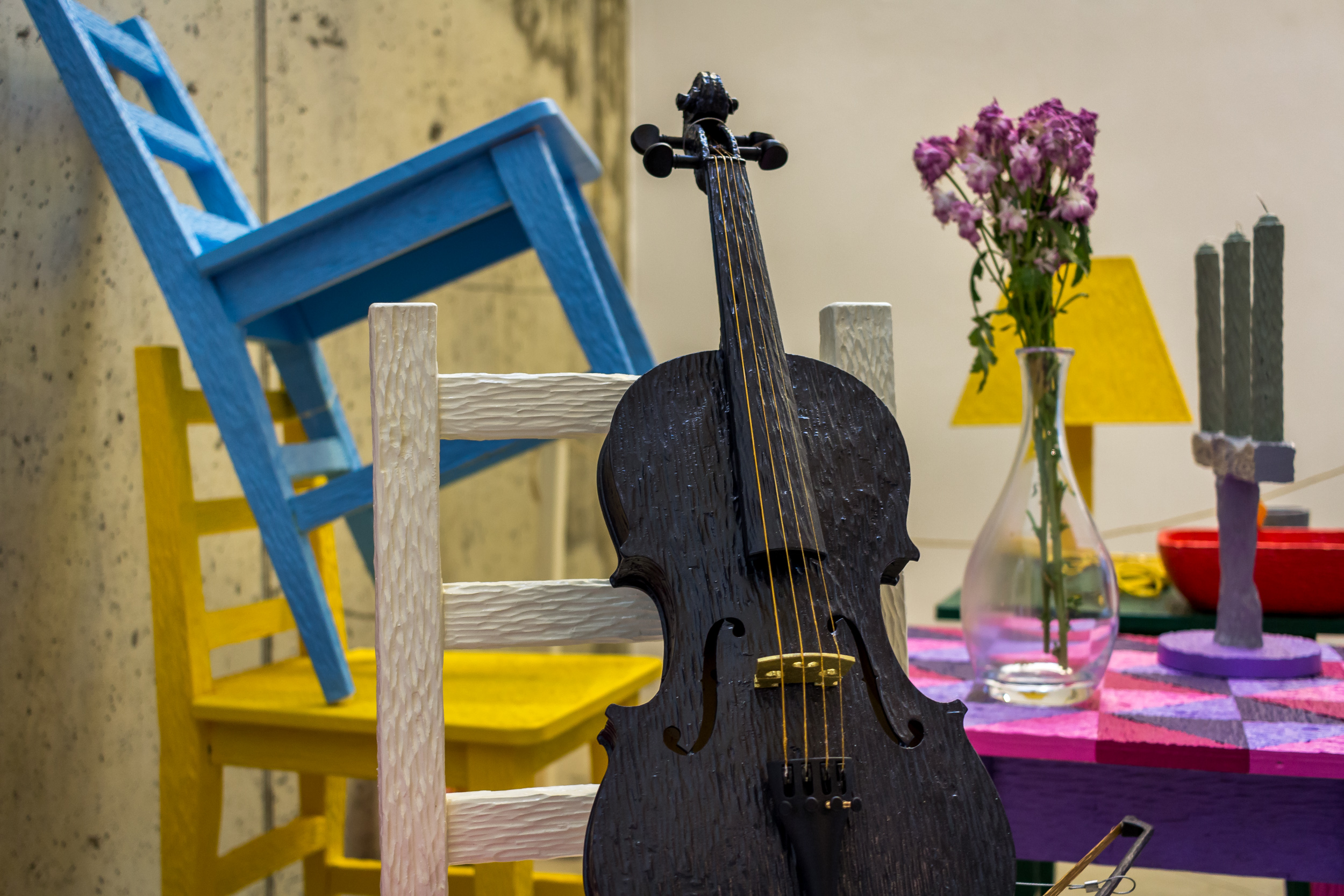 Violin and Chairs