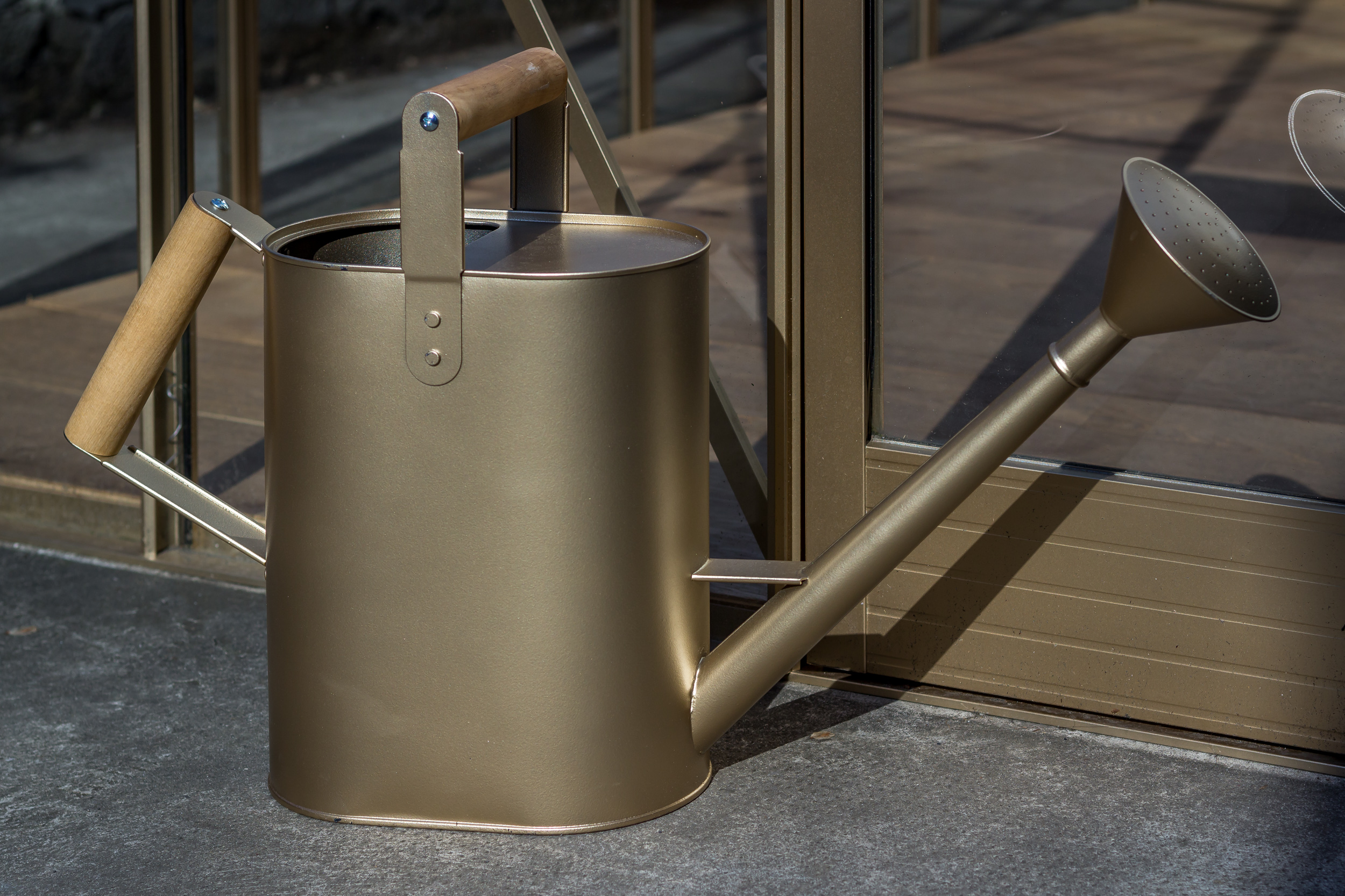 Golden Watering Can