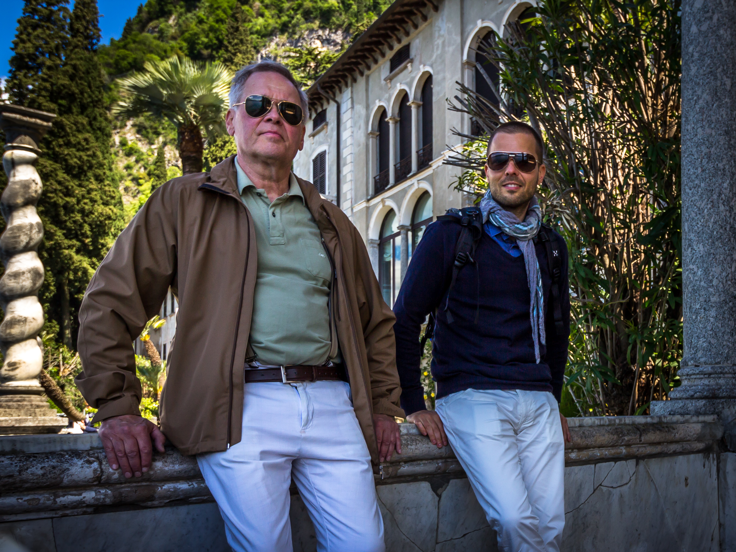 Varenna Boys – Father and Son