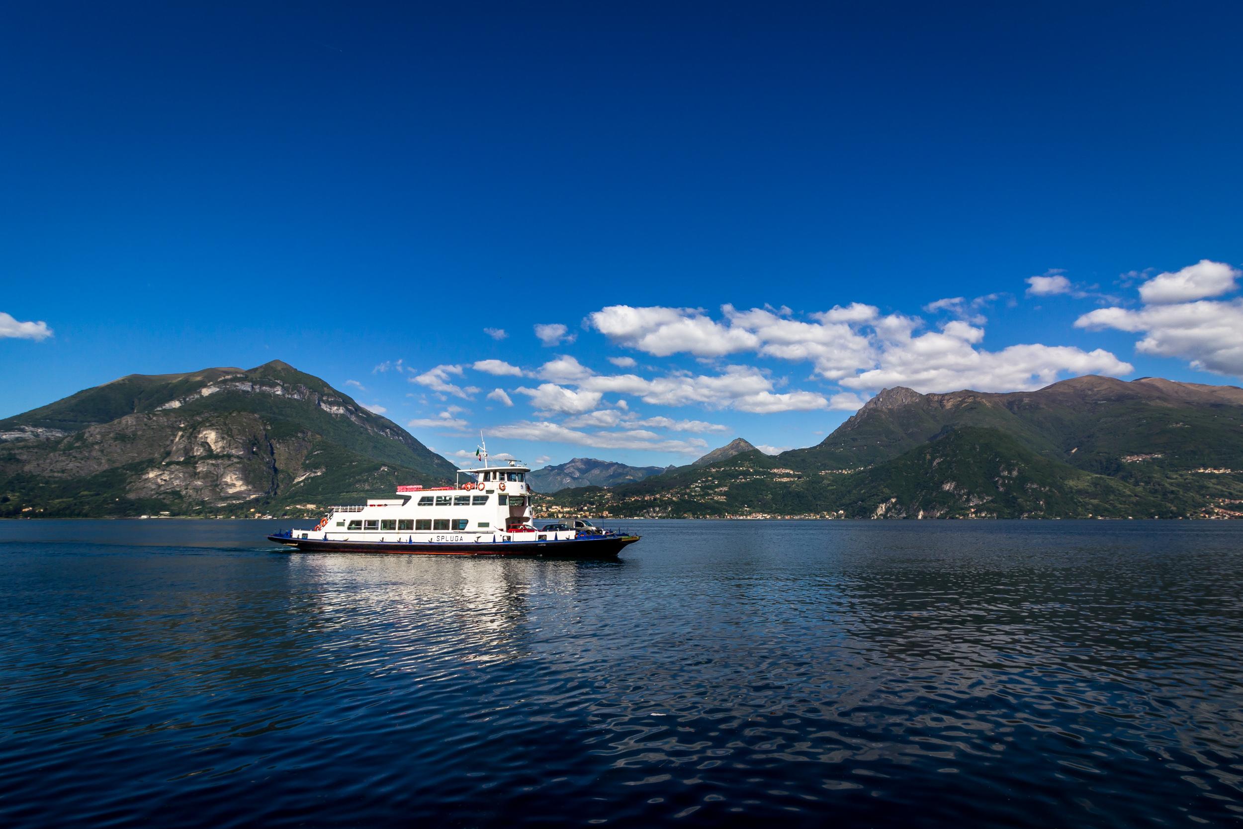 A Ferry named Spluga
