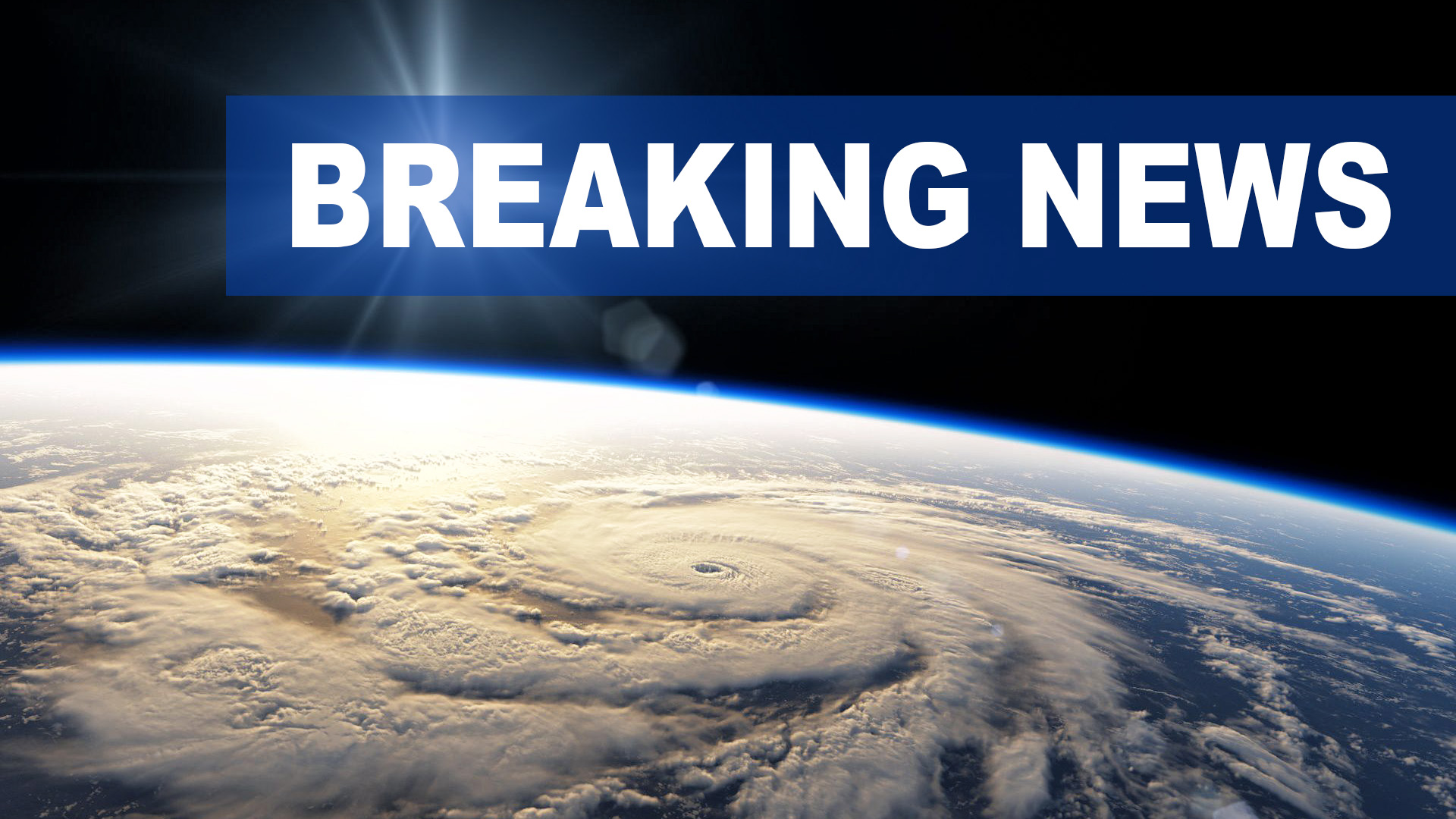 We're bombarded with Breaking News on a daily basis. Image based on NASA footage, composed by NR.