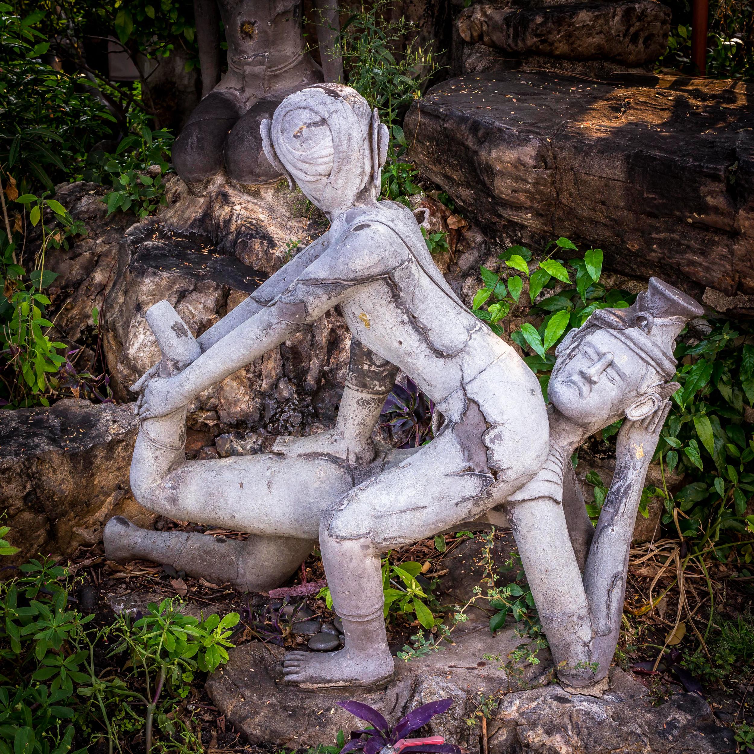 Twisted Yoga Pair