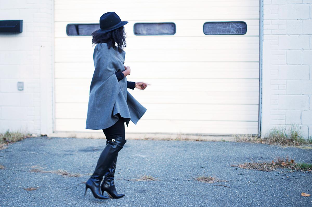 Tasha-James-The-Glossier-Blogger-DC-Arlington-Fashion-Style-Lookbook-Cape-Altuzarra-For-Target-Fall-Trends-1
