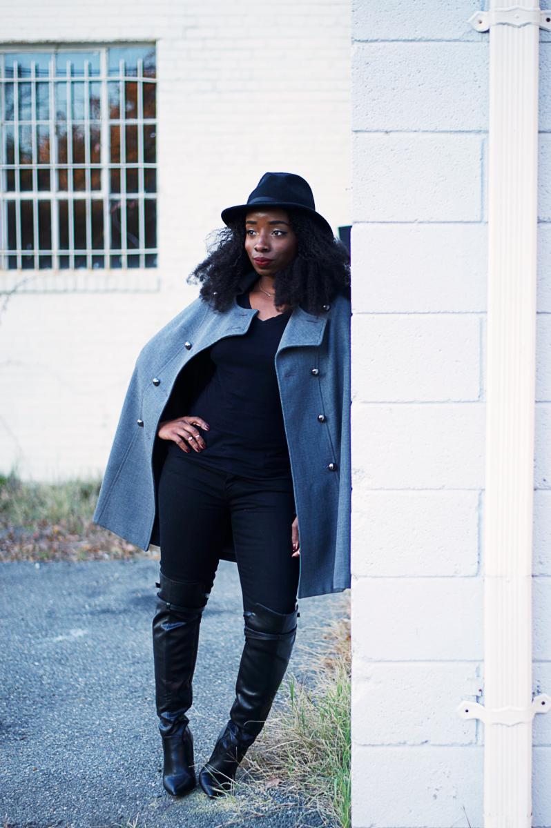 Tasha-James-The-Glossier-Blogger-DC-Arlington-Fashion-Style-Lookbook-Cape-Altuzarra-For-Target-Fall-Trends-5