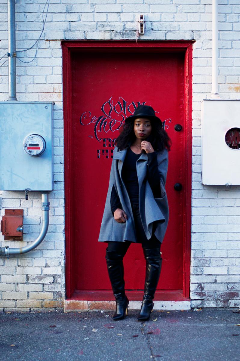 Tasha-James-The-Glossier-Blogger-DC-Arlington-Fashion-Style-Lookbook-Cape-Altuzarra-For-Target-Fall-Trends-16