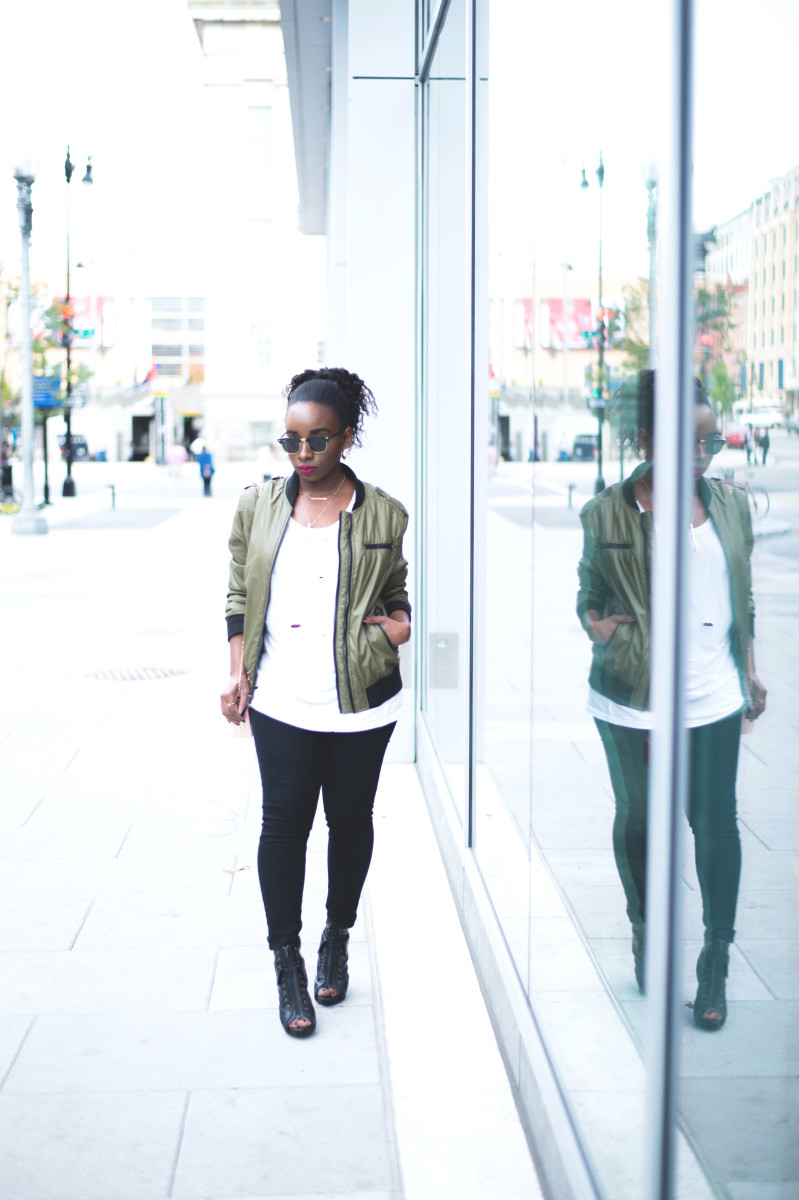 The-Glossier-Fashion-Blogger-Style-William-Rast-Target-Bomber-Jacket-Fall-2015-DC-1.jpg