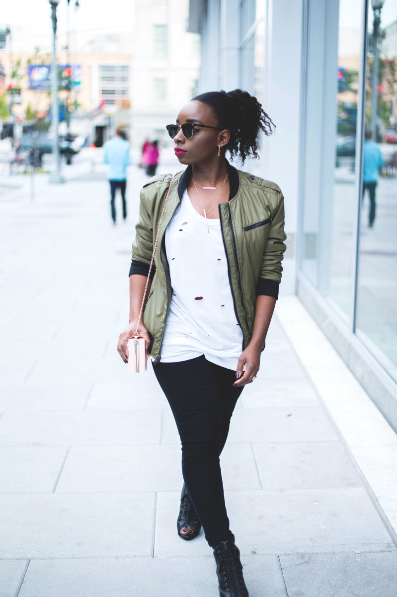 The-Glossier-Fashion-Blogger-Style-William-Rast-Target-Bomber-Jacket-Fall-2015-DC-7.jpg