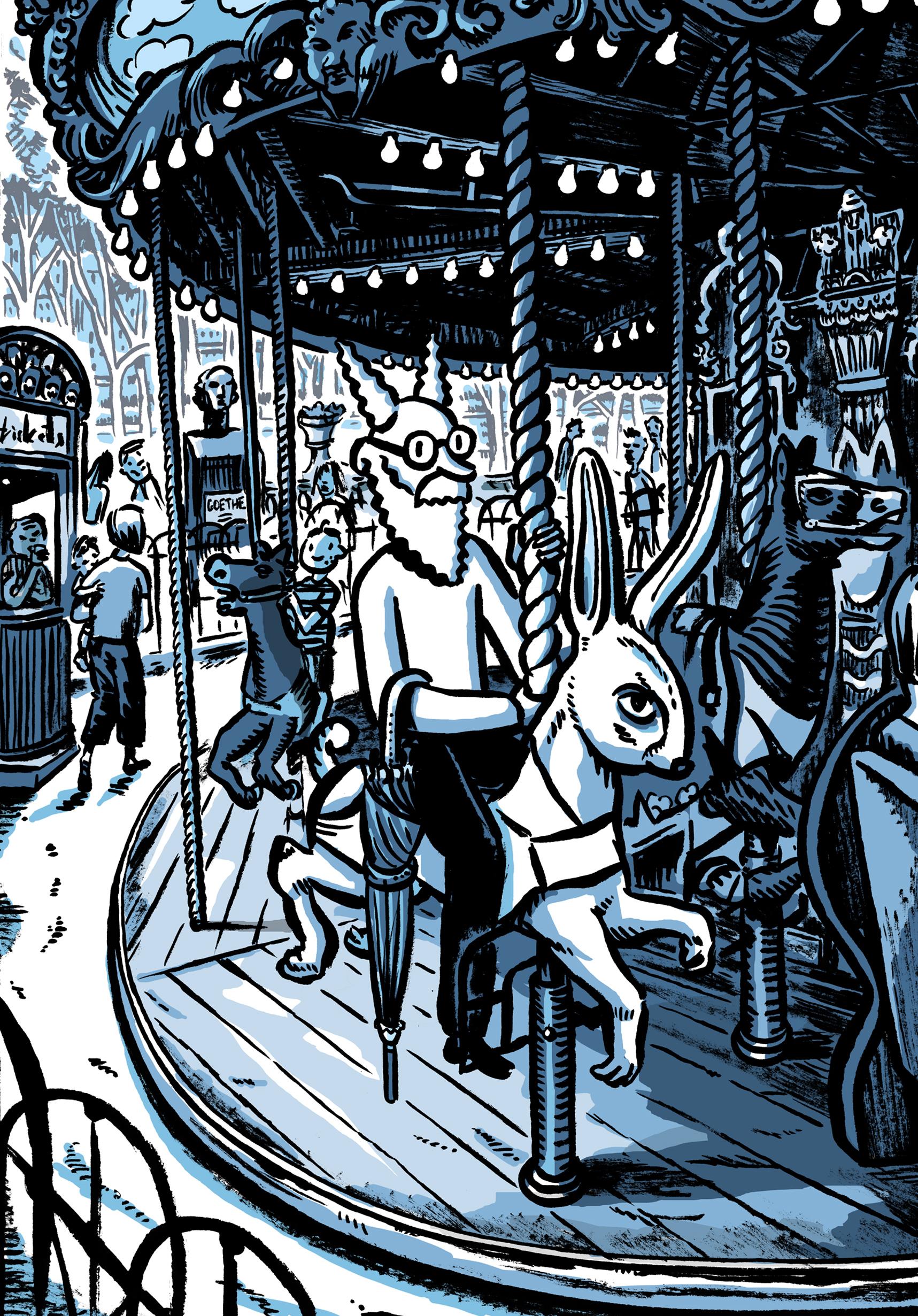 Nimbus on the Carousel of Disgruntled Animals.