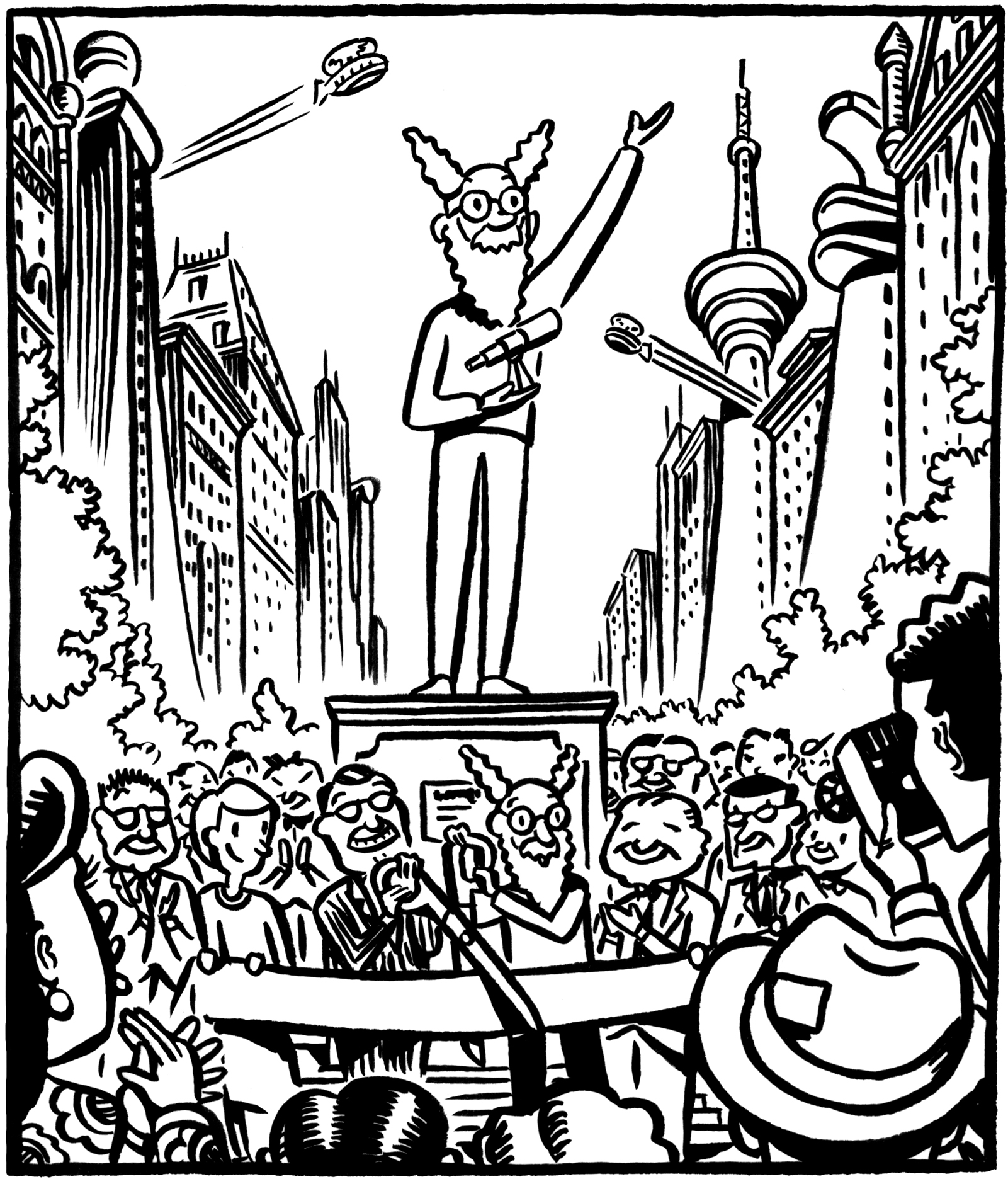 Panel from Nimbus and the Amazing Spectacles.
