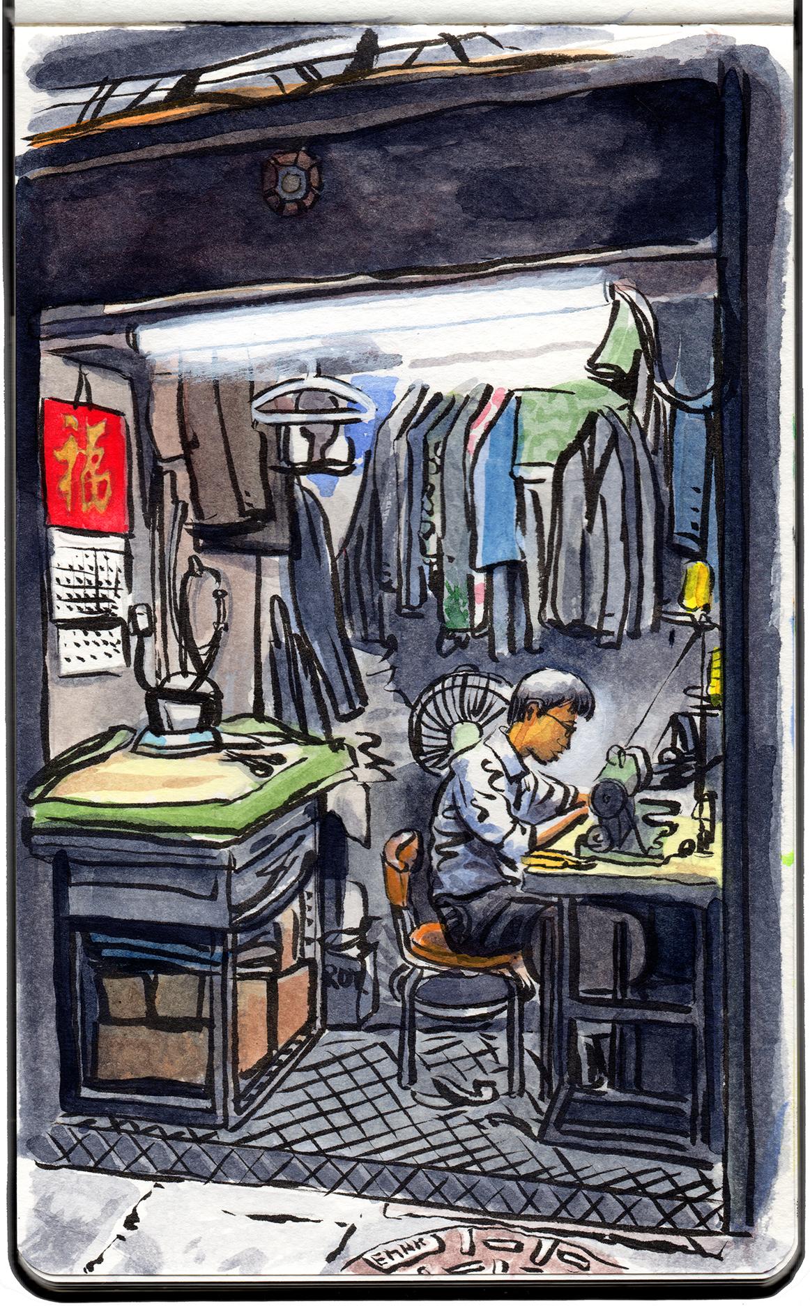 Tailor, East TST.