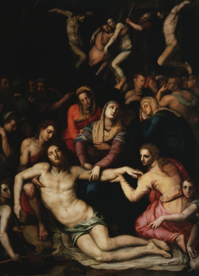 Deposition of Christ - Agnolo di Cosimo and Torri detto il Bronzino - 1560-1561 Galleria dell'Accademia