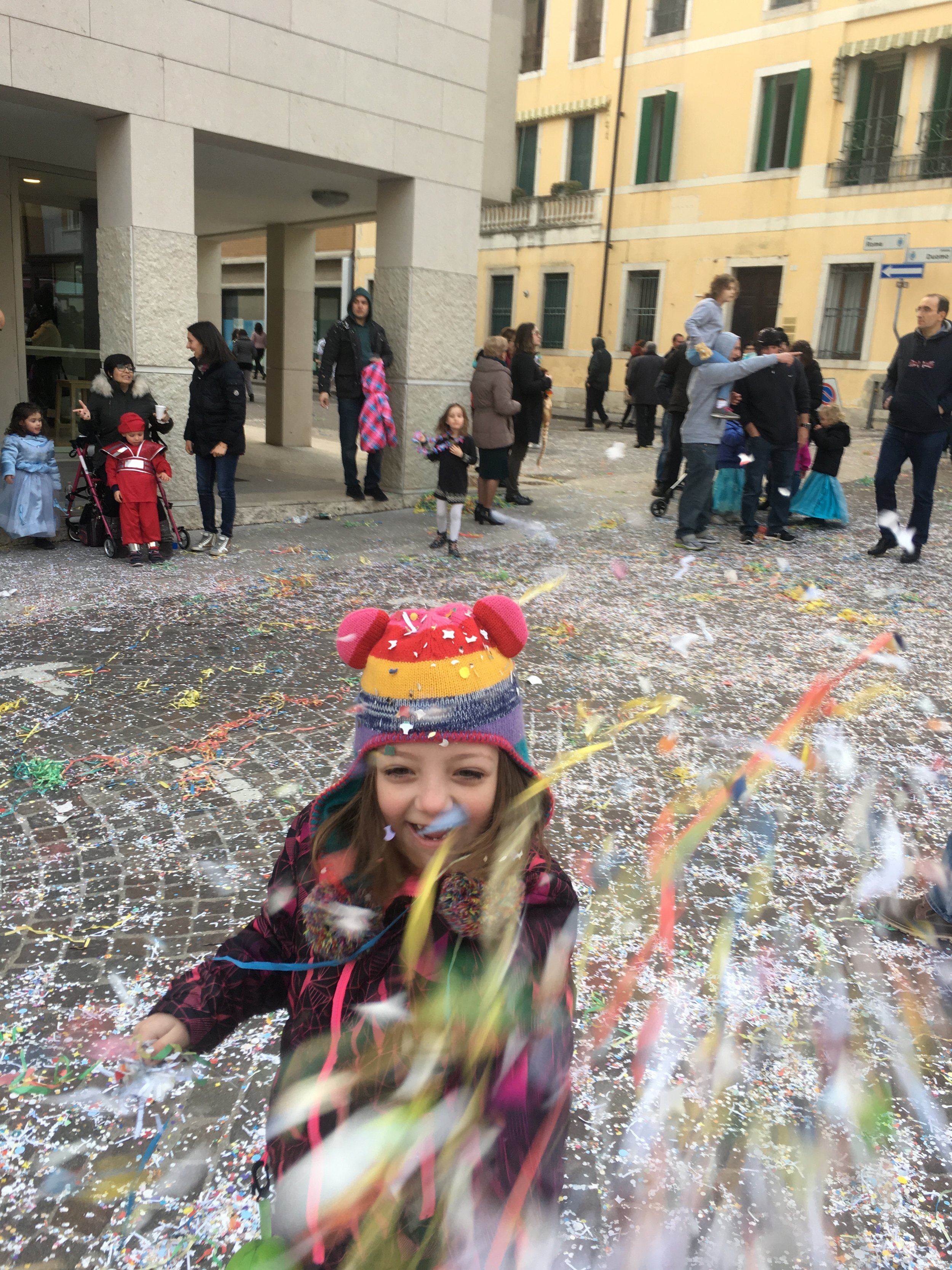 Confetti and Carnevale