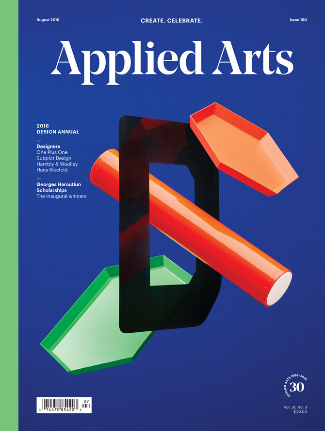 Applied Arts Design Award - Young Blood Editorial Winner
