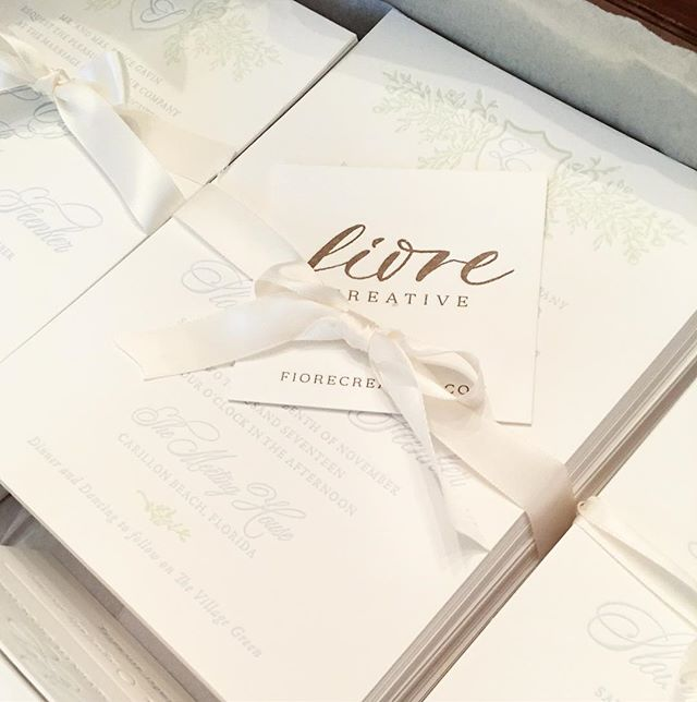Another wedding suite sent out to a lovely couple. Wedding day countdown is on!