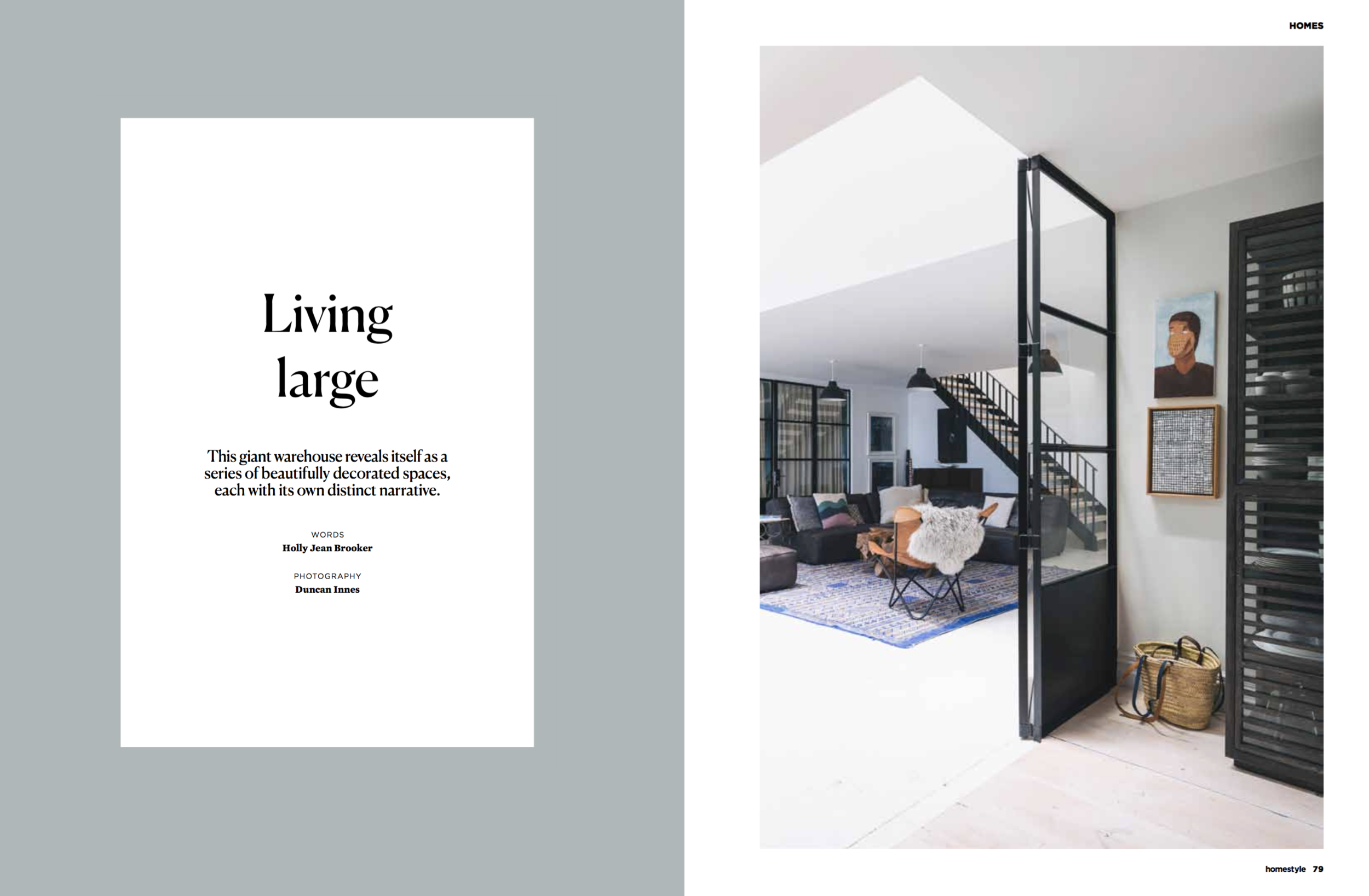 - Homestyle Magazine 2017Ex-warehouse in Grey Lynn gets a makeoverWords by Holly Jean BrookerPhotography by Duncan Innes