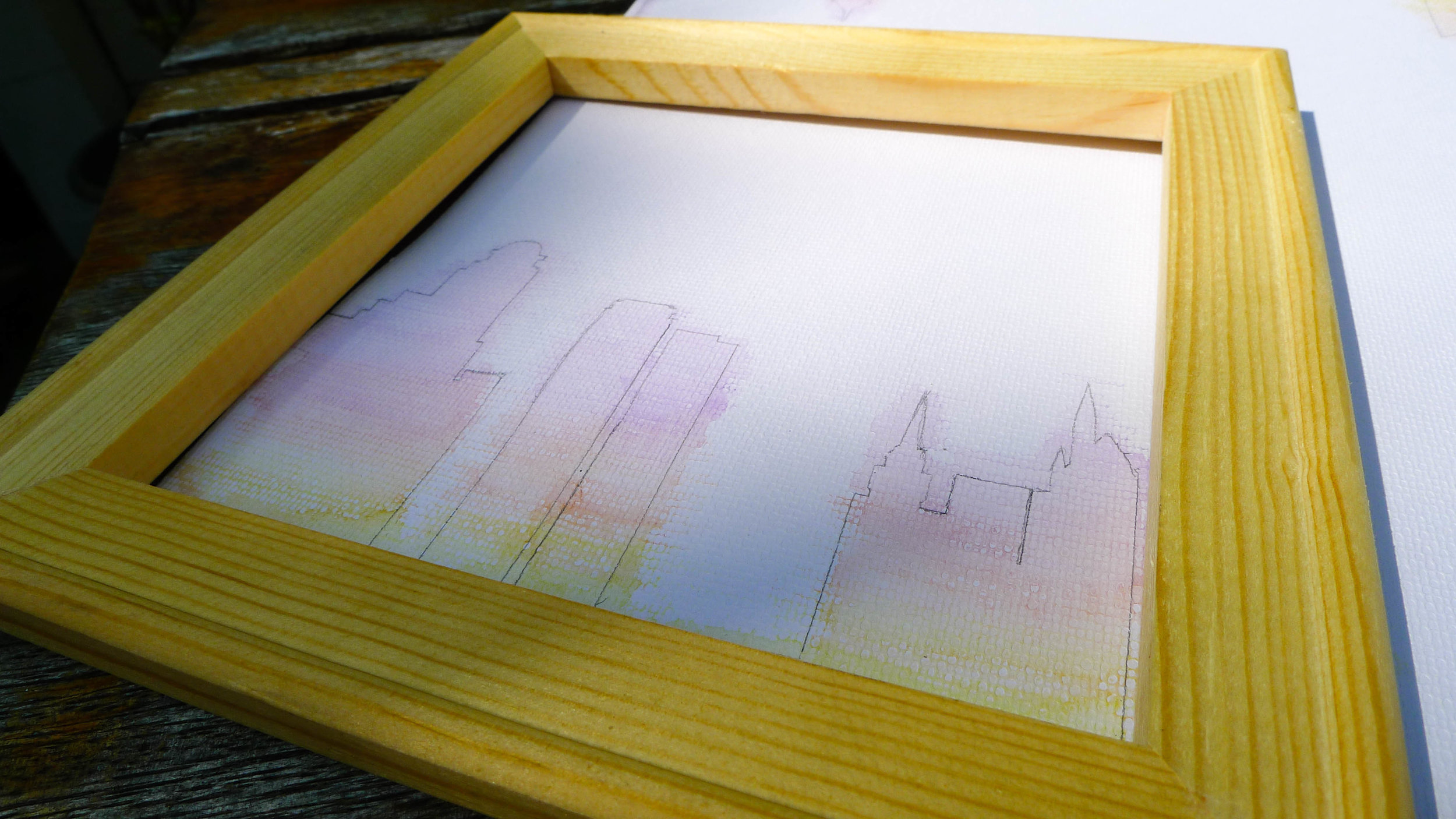 2017_DIY Lightbox_Colored Layer and Wood Frame Alignment Test.jpg